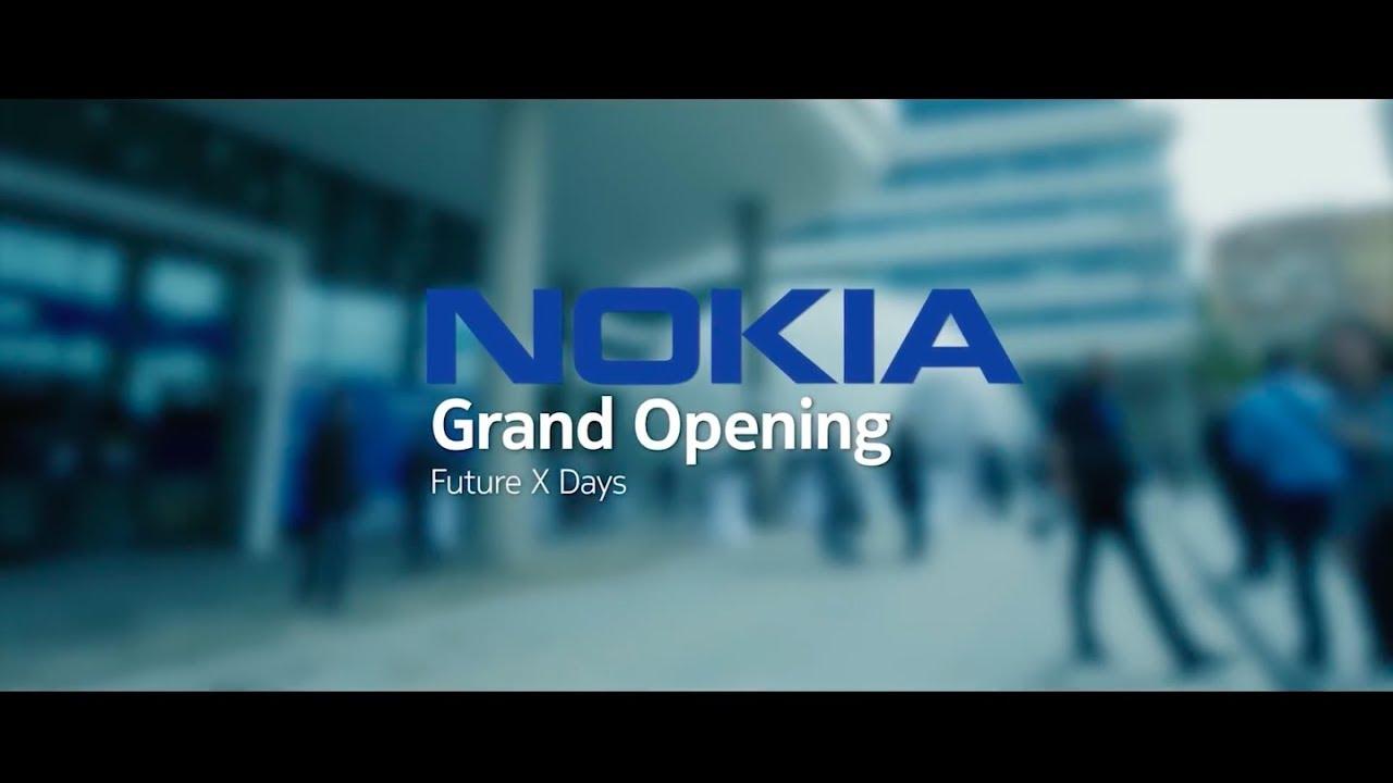 Nokia Skypark Building Opening