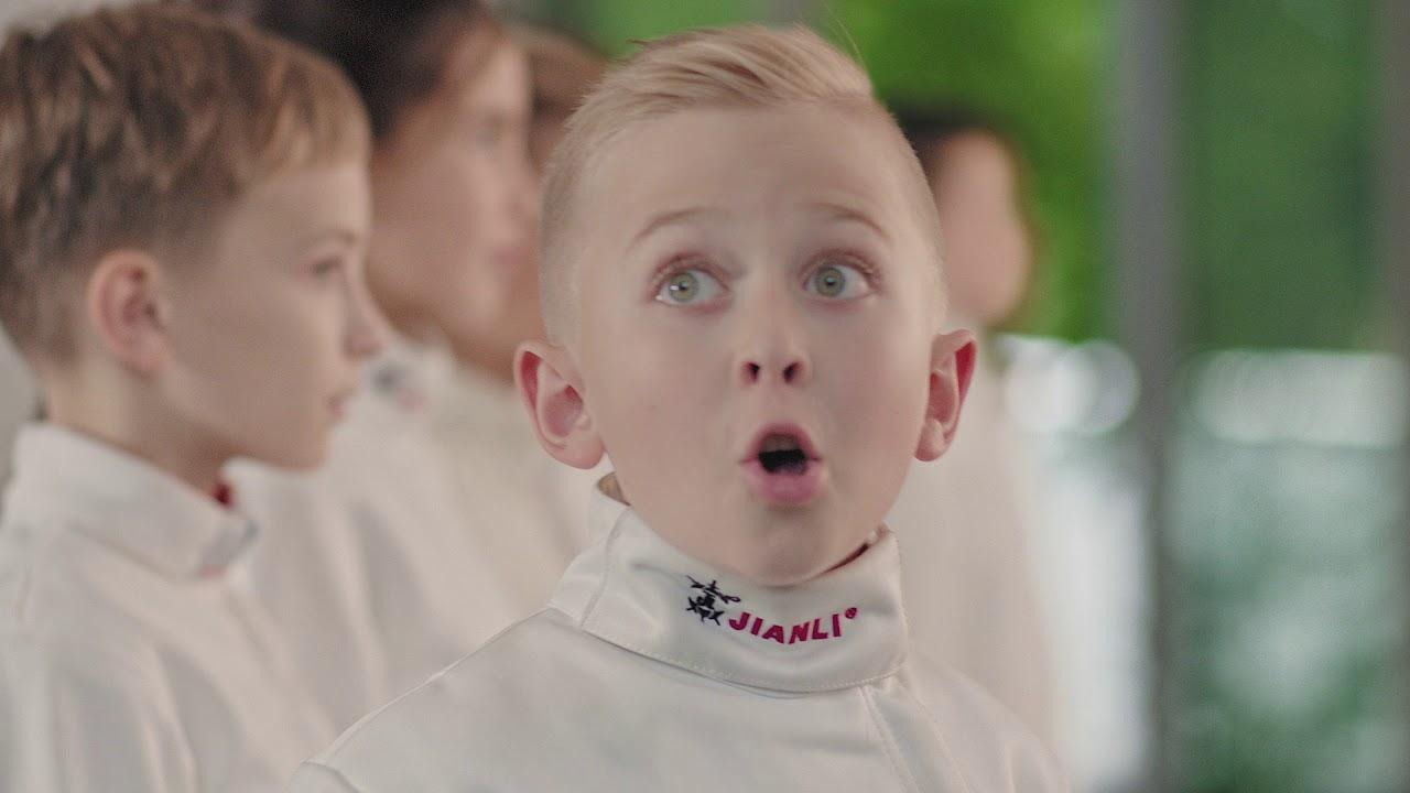 Sony reklám Szilágyi Áronnal